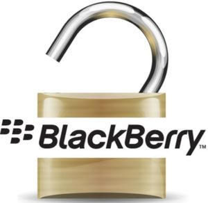 Unlock Blackberry