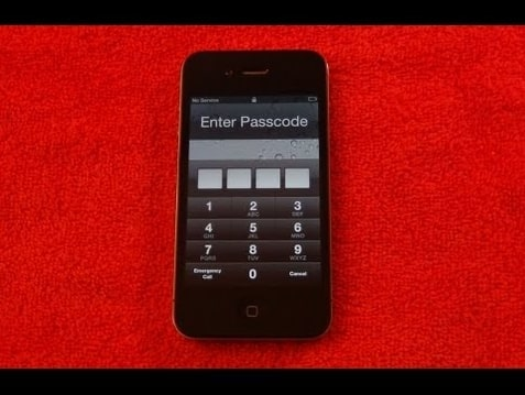 how to unlock passcode for iphone 3gs