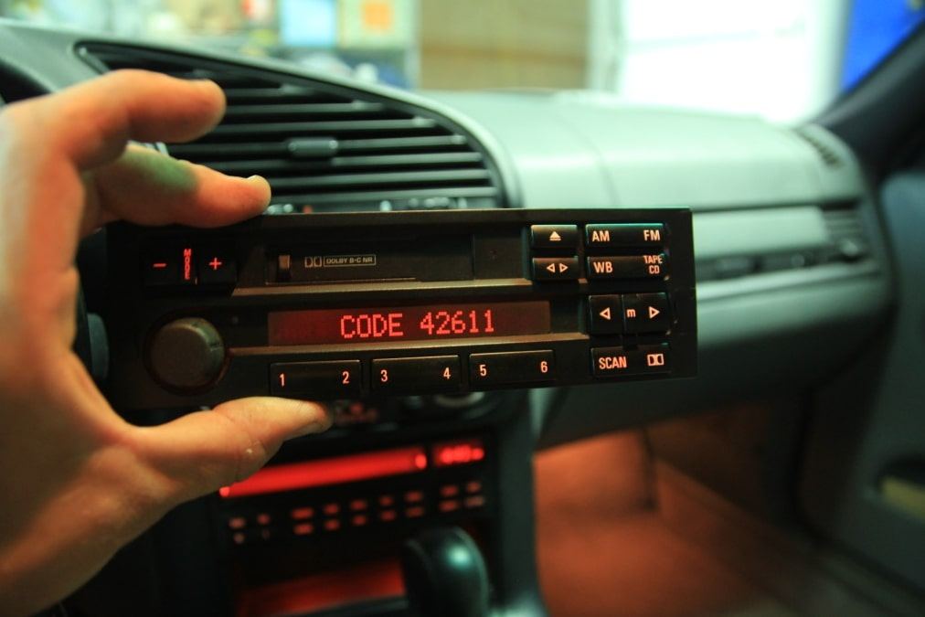 BMW Radio Code