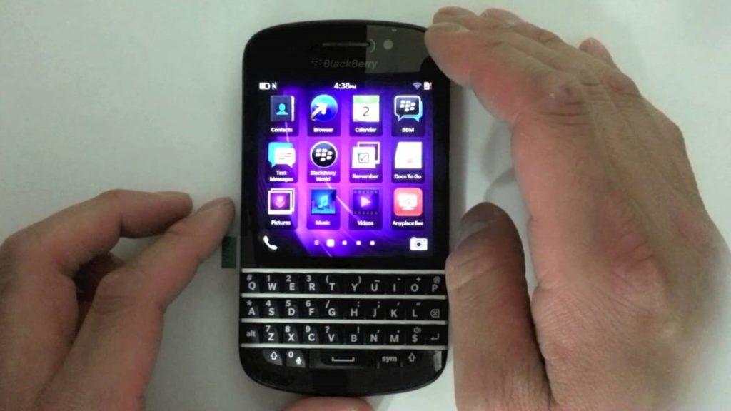 How To Unlock Blackberry Q10