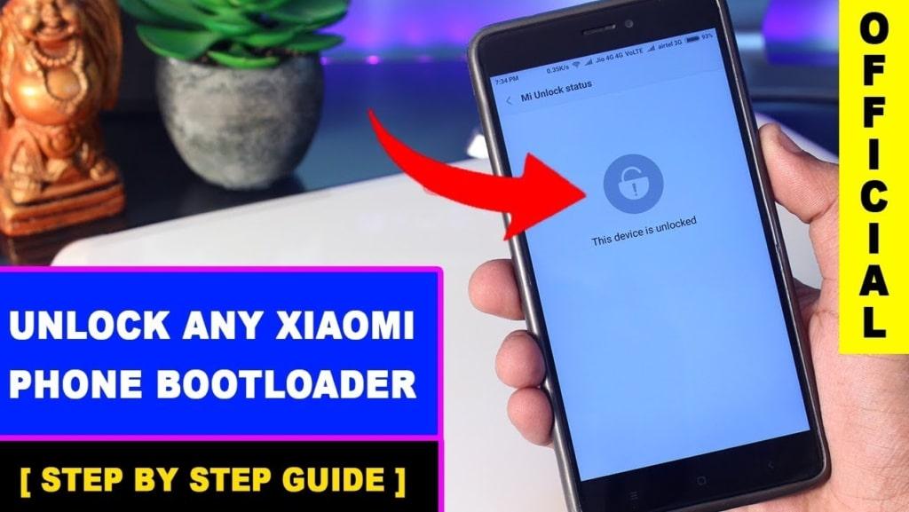 Unlock Xiaomi Code